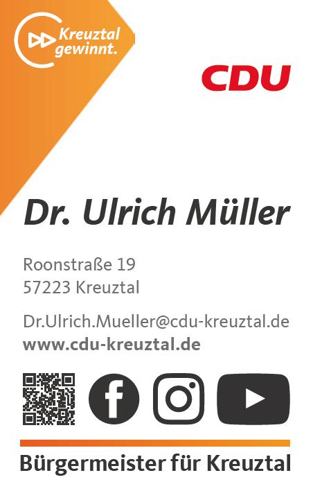 Dr. Ulrich Müller