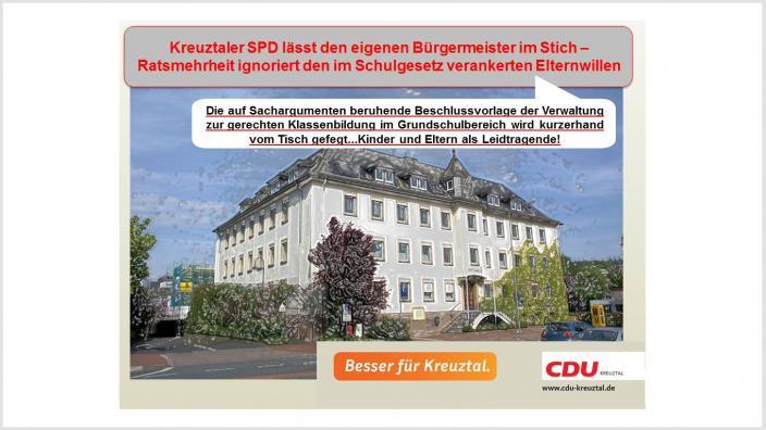CDU: Besser für Kreuztal